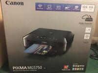 Brand New Canon PIXMA MG5750 !