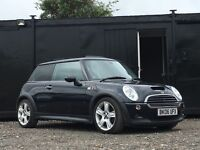 ★ 2006 MINI COOPER S 1.6L + PAN ROOF + LEATHERS + ALLOYS ★
