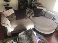 DFS large 3/4 seat sofa