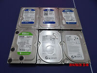 "500 GB SATA internal 3,5"" Hard Disk Drives (HDDs) for desktops from £15"