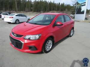 2017 Chevrolet Sonic LT 5 Passenger, Remote Start, Backup Camera
