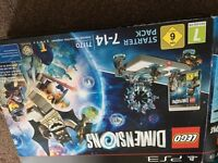 PS3 Lego dimensions starter pack + 3 extra figures
