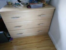 John Lewis Solid chest of drawers