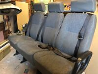 3 person bench seat