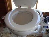 As new Jabsco boat toilet.
