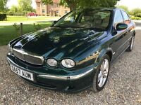 2007 JAGUAR X TYPE, 2.0 DIESEL, 6 SPEED MANUAL, SAT NAV, LEATHER, SUPERB CONDITION