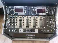 Denon cd mixer (flightcased)