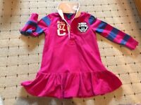 Girls 2 years T-shirt and jumper from DKNY and Ralph Lauren