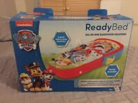 Childs first inflatable bed