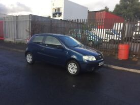 Fiat punto 1.2. 04 plate. Motd oct. Taxd. 61.000 miles £295 yes £295