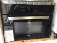 Beko combined oven and microwave new graded 12 month gtee