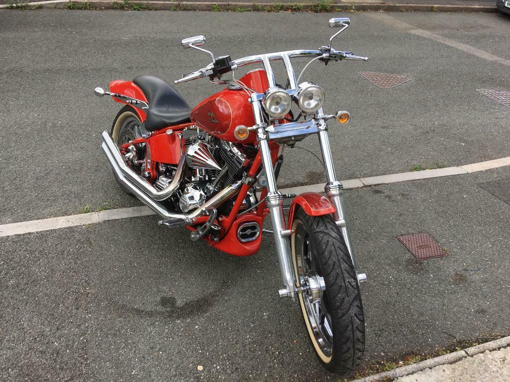 Harley Davidson 2001 custom night trail   in Plymouth, Devon   Gumtree