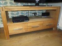 Royal Oak TV unit (Sterling furniture)