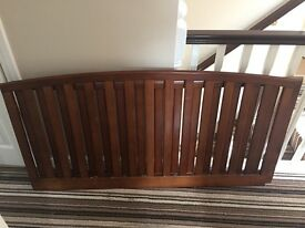 Sleigh Cot Bed and Wardrobe