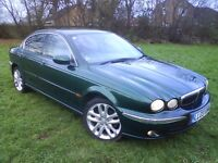 @@LOVELY 2003 JAGUAR X-TYPE 2L V6(RARE MANUAL)FULL HISTORY 6 STAMPS IN BOOK,LOW MILES 97000
