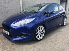 FORD FIESTA ZETEC S ECOBOOST 123 BHP , 2016 * FINANCE AVAILABLE * LOW MILES + HISTORY * WARRANTY