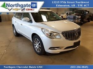 2017 Buick Enclave AWD Leather, sunroof, low km Finance Availabl