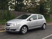 VAUXHALL CORSA 1.0 PETROL. 56 PLATE. 5 DOOR. MANUAL. LONG MOT.