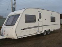 swift conqueror 4 berth 2006 with awning