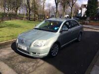 2005 (55) TOYOTA AVENSIS T SPIRIT D-4D 2.0 DIESEL **LEATHER SEATS + DRIVES VERY GOOD + SPACIOUS**