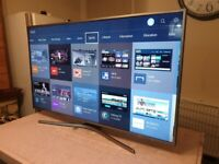 Samsung 55 inch smart nano crystal uhd led tv with wifi, freeview hd, bluetooth