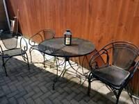 Patio garden set