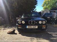 BMW E30 325i Sport M-Tech 1 1986 - Schwarz
