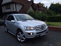 Mercedes ml 280 cdi sport low mileage FSH