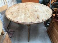 Solid pine dining table FREE DELIVERY PLYMOUTH AREA