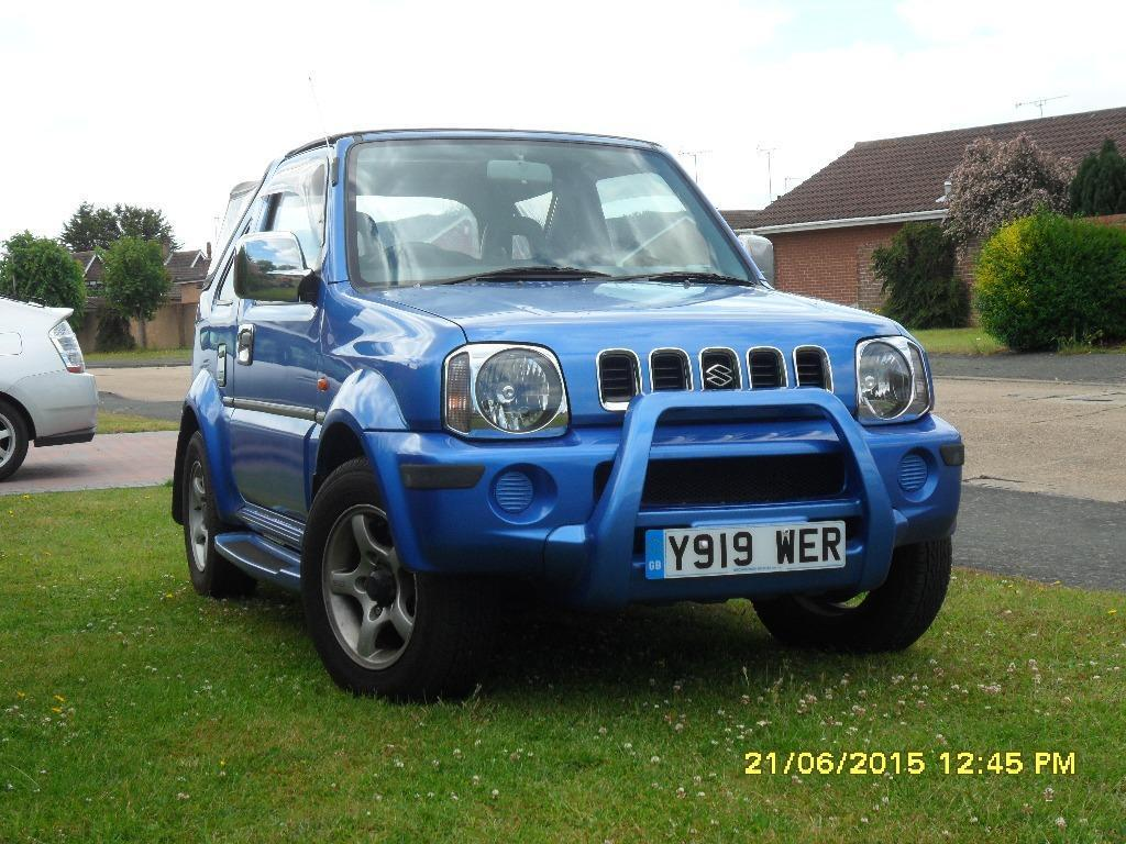 suzuki jimny jlx with body kit in clacton on sea essex. Black Bedroom Furniture Sets. Home Design Ideas