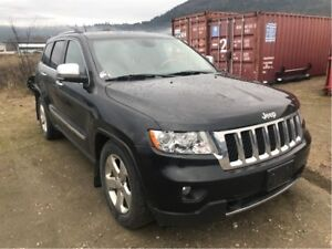 2011 Jeep Grand Cherokee Overland Hemi, Air Suspension, Sunroof