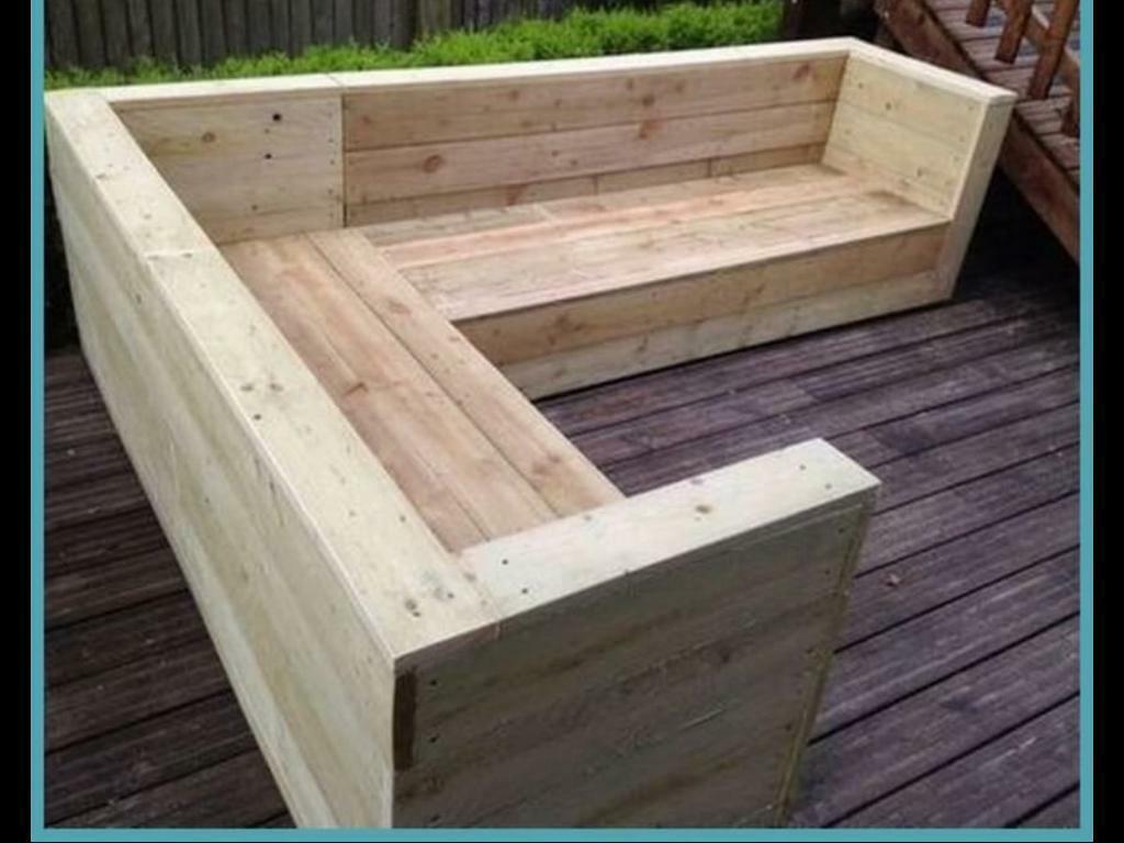 Bespoke Hand Crafted Heavy Duty Garden Furniture Seat ...