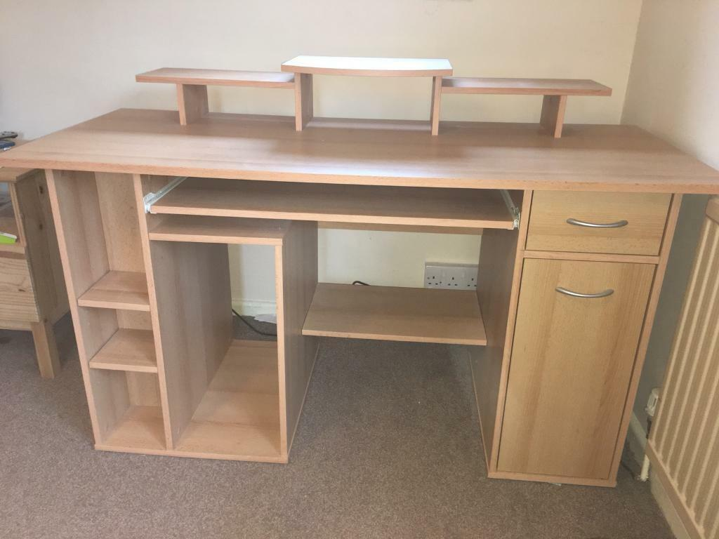 custom standing desk kidney shaped mid. Huge Desk. Desk/work Space/storage Unit From Ikea Desk E Custom Standing Kidney Shaped Mid B