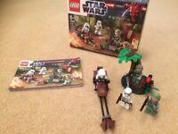 Lego Star Wars Endor Rebel Trooper & Imperial Trooper Battle Pack 9489 inc Box