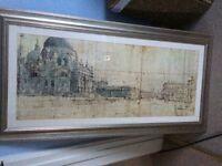 Framed Print of Venice.