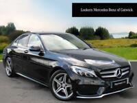 Mercedes-Benz C Class C220 D AMG LINE PREMIUM PLUS (black) 2016-06-15