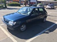 Ford Fiesta Ghia CVT 1299cc Petrol Automatic 5 door hatchback N Reg 01/08/1995 Blue