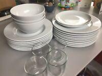 Ikea Crockery- plates/bowls etc.