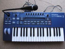 Novation Ultranova Synth keyboard
