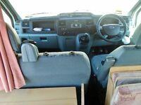 Camper van Ford Transit conversion