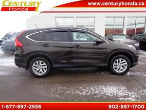 2015 Honda CR-V EX-L+120KM Warranty
