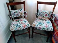 Pair of Vintage Chairs - excellent condition