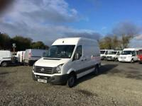 2013 VOLKSWAGEN CRAFTER CR35 MWB##1 OWNER DIRECT##