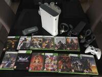 Xbox 360 & 13 Games.