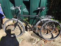 Men's Commuter Bike - needs new back wheel