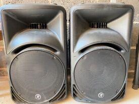 Mackie SRM450 large speakers-pair