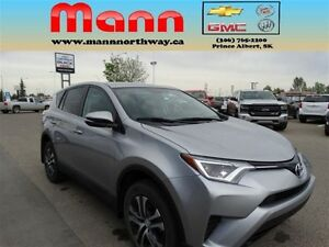 2016 Toyota RAV4 LE - Bluetooth, Alloy wheels, All-wheel drive.