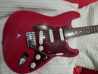 Squier Stratocaster - Upgraded.
