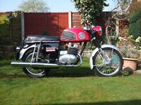 MZ Trophy Sport 250 1972, 2000miles since rebuild including engine bearings and crank seals