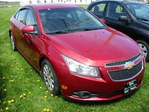 2012 Chevrolet Cruze ECO; 1.4 Turbo; Cruise, A/C, P/Group & MORE